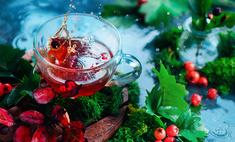 Чай из рябины прогонит авитаминоз и простуду