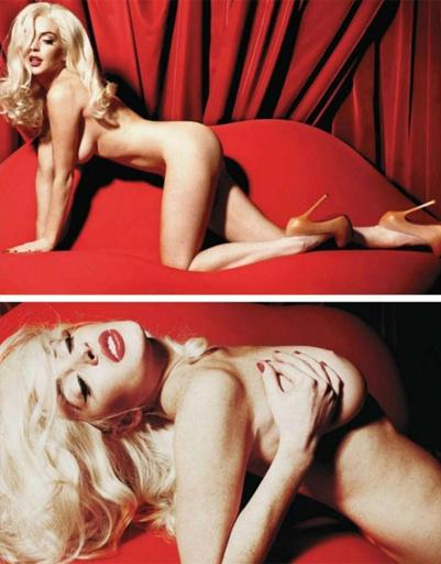 Линдсей Лохан обнажилась для Playboy