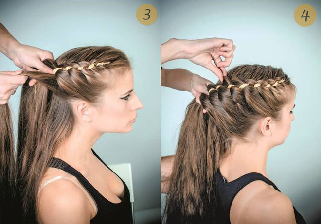 прически на длинные волосы видео