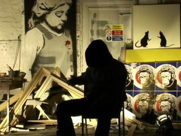 Бэнкси (Banksy) в фильме «Выход через сувенирную лавку»