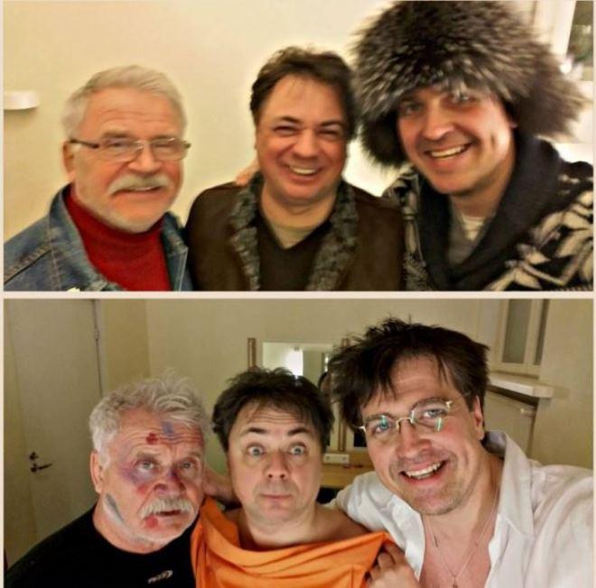 Сергей Никоненко, Андрей Леонов, Денис Матросов