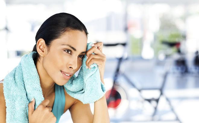 Как ухаживать за кожей лица занимаясь спортом