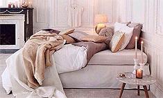 Романтика: украшаем спальню к Дню влюбленных