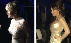 Варум и Лорак пришли на «Песню года» в «голых» платьях