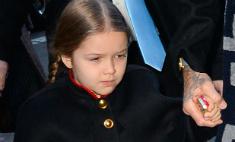 Виктория Бэкхэм восхищается стилем своей дочери