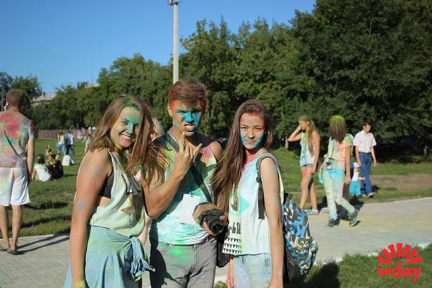 Фестиваль красок Барнаул 2014