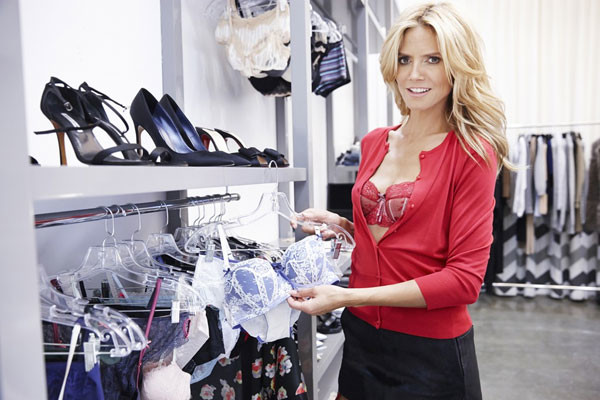Хайди Клум назвала свою линию нижнего белья Heidi Klum Intimates