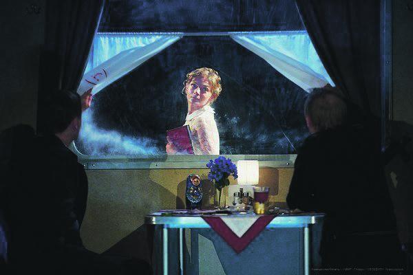Сцена из спектакля «Крейцерова соната»