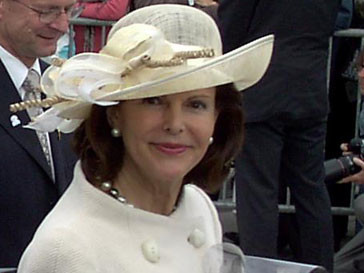 Королева Сильвия пострадала во время визита в Нью-Йорке