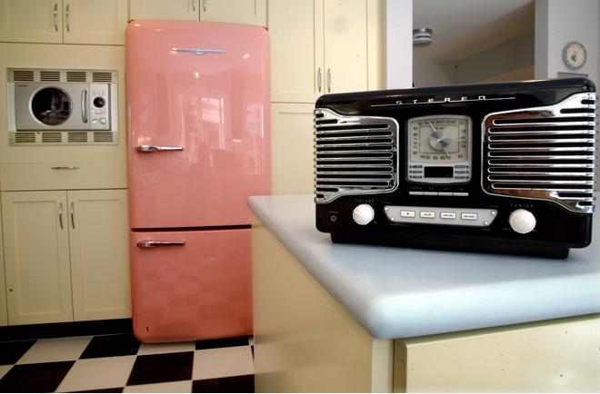 украсить холодильник