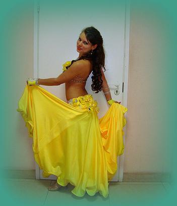 Людмила Пономаренко самая обворожительная восточная танцовщица Самары