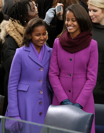 Саша и Малия Обама