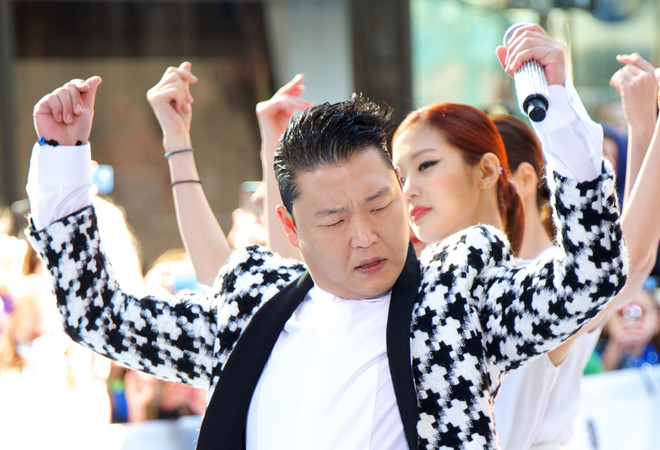 Psy Gangnam Style фото