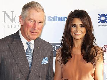 Принц Чарльз (Prince Charles) и Шерил Коул (Cheryl Cole) на церемонии в Лондоне