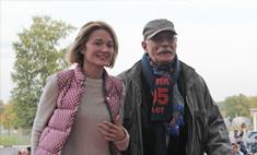 Никита Михалков догонял поезд на вертолете