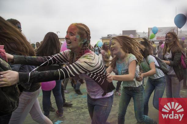Уфа, фестиваль, Color Fest-2014 в Уфе, Фестиваль красок в Уфе