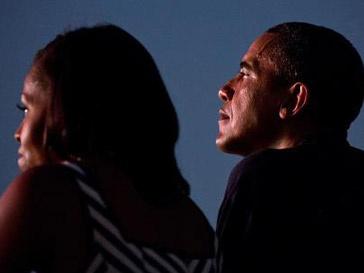Барак Обама (Barak Obama) и Мишель Обама (Michele Obama)