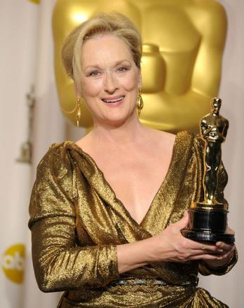 Мерил Стрип на премии «Оскар», 2012 год