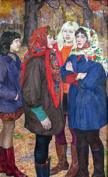 картина Обрезумовых «Молодые голоса»