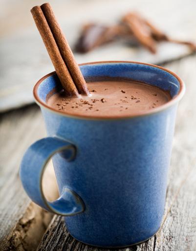 Осенний рецепт горячего шоколада с чили