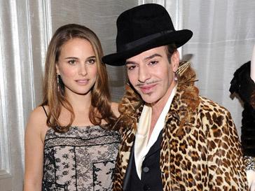 Натали Портман (Natalie Portman) и Джон Гальяно (John Galliano) больше не друзья