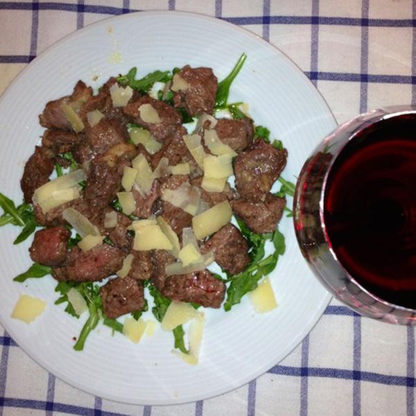 Тальята с рукколой и пармезаном пошаговый рецепт