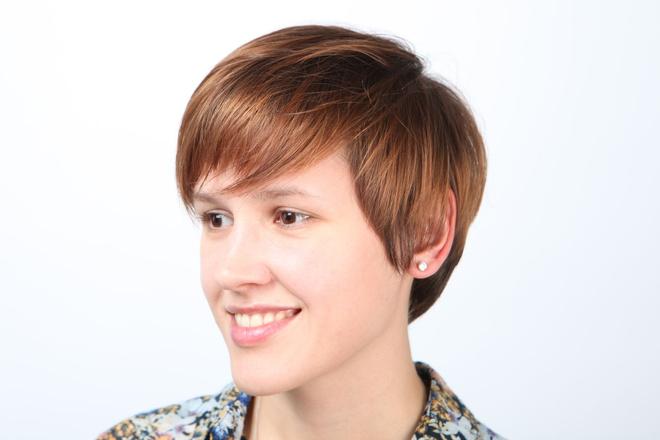 омбре на короткие волосы