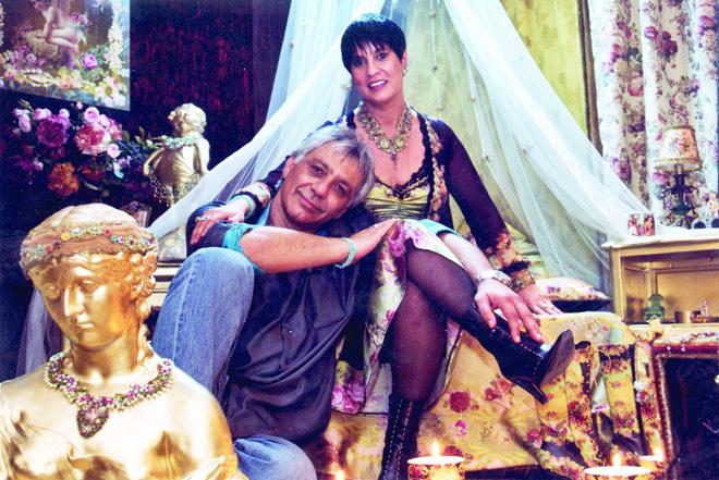 Михаль Негрин с мужем Меиром