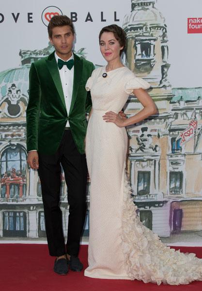 Ульяна Сергеенко и Фрол Буримский на Love Ball