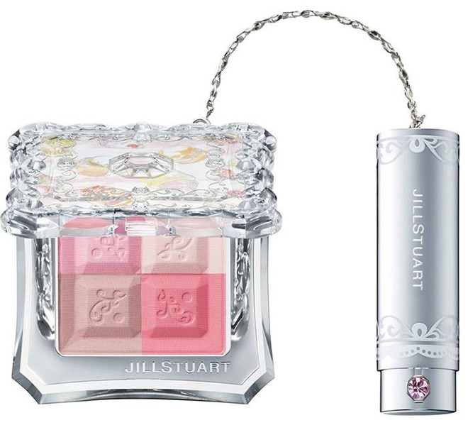 Jill Stuart Mix Blush Compact, четырехцветные румяна, около 3500 рублей