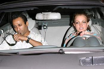 Бритни и Эднан вместе, 8 марта 2008 года