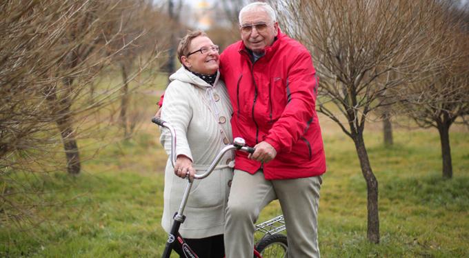 «Мы вместе благодаря Божьему промыслу... и велосипеду»