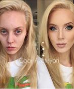20 шокирующих фото до и после макияжа