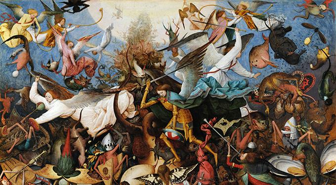 Мультимедийная выставка «Питер Брейгель. Перевернутый мир»
