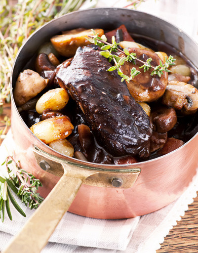 Рецепт говядины по-бургундски