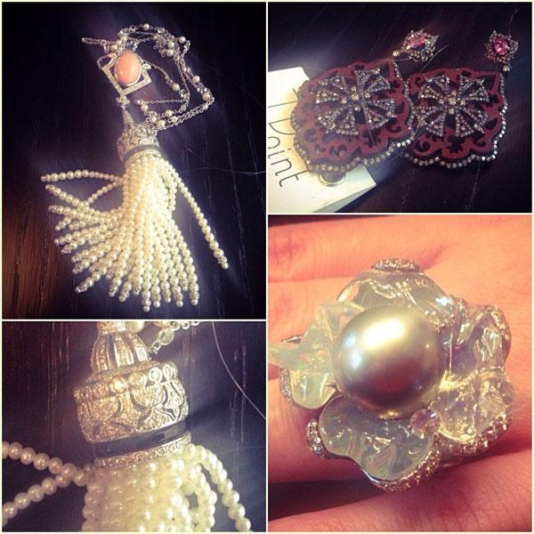 Кристина Асмус пополнила коллекцию украшений