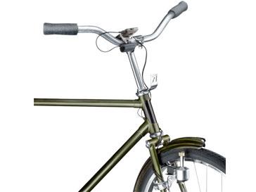 Велосипедное зарядное устройство работает по принципу динамо-машины
