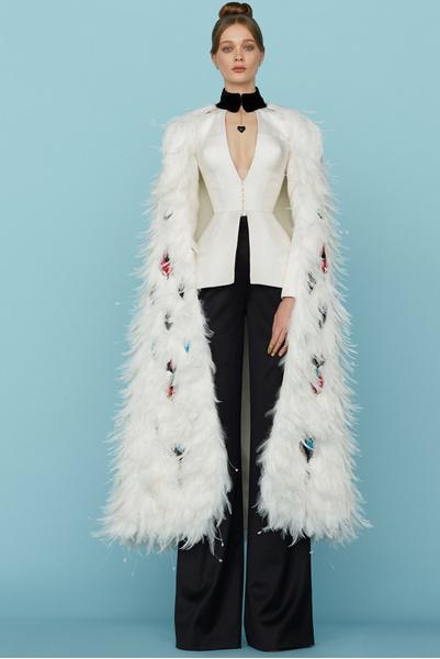 Ульяна Сергеенко представила новую коллекцию на Неделе высокой моды в Париже | галерея [1] фото [30]