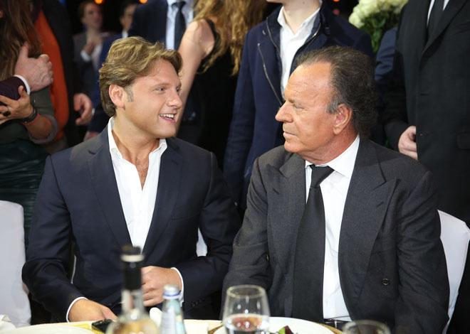 Александр Коган и Хулио Иглесиас фото