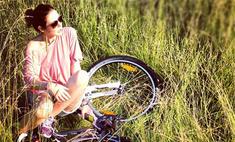 Фитнес на воздухе: звезды выбирают велосипедные прогулки