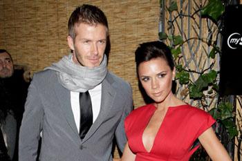 Дэвид и Виктория Бэкхем (2009)