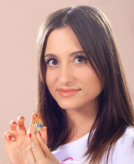 Дарья Беседина, участница конкурса «Мисс Мегаполис», фото