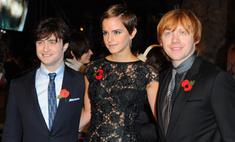 Эмма Уотсон приклеила платье к спине скотчем на лондонской премьере фильма «Гарри Поттер и дары смерти»