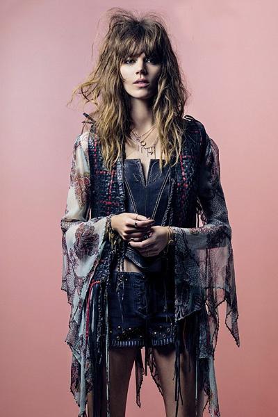 Платье из коллекции Kate Moss for Topshop весна-лето 2014