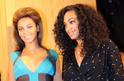 Соланж Ноулз (Solange Knowles) и Бейонсе Ноулз (Beyonce Knowles)
