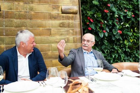 Жюри ММКФ на итальянском ужине | галерея [1] фото [3]