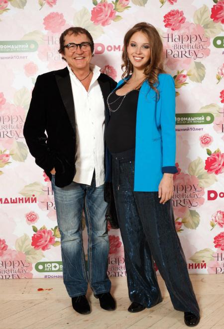 Дмитрий Дибров с супругой: фото