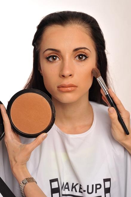 Летний макияж: мастер-класс