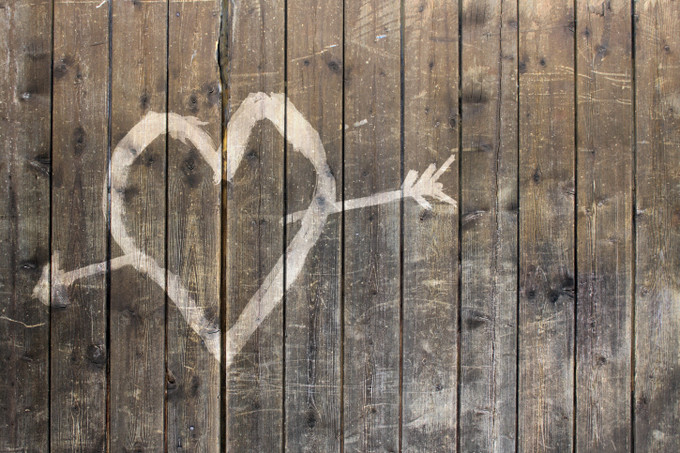 Нарисованное сердце