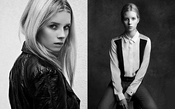 Лотти Мосс подписала контракт с Storm Models
